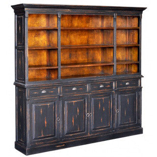Country French Open Bookcase