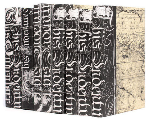 Linear Foot of Black Bold-Spenserian Books