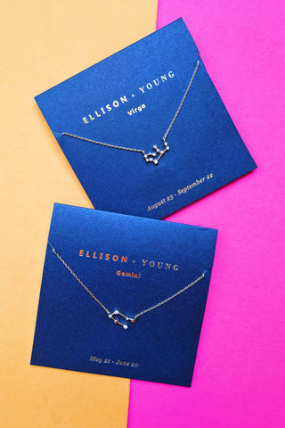 Ellison + Young: Zodiac Collection Necklace