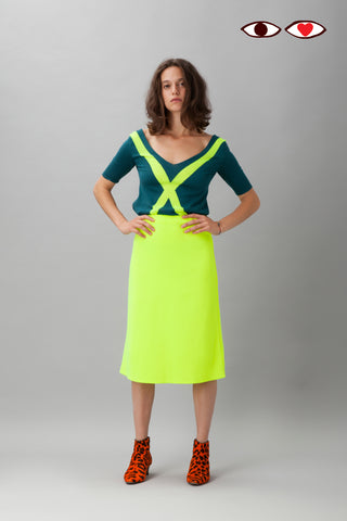 Sartoria Vico + Wait and See<br>Skirt glow - Yellow