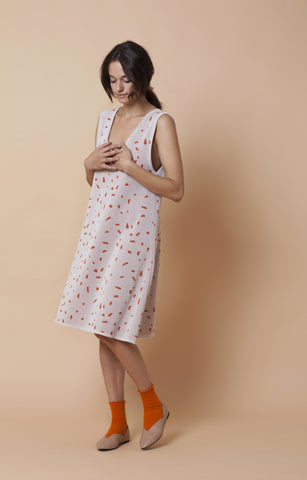 Terrazzo dress - light