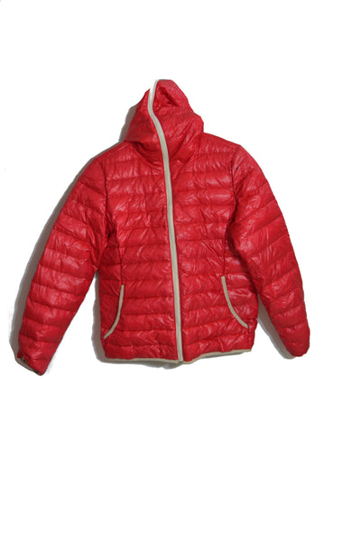 Full Zip Puffer Jacket - S