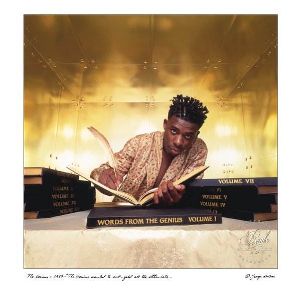 Genius/GZA (by George DuBose) - Limited Edition, Archival Print