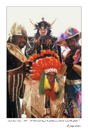 Afrika Bambaataa & Soulsonic Force (by George DuBose) - Limited Edition, Archival Print