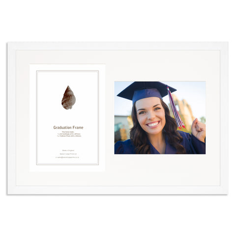 Matt White Graduation Frame