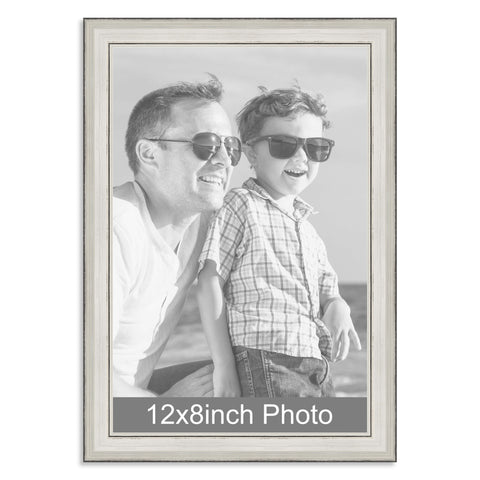 12 x 8inch Silver Photo Frame for a 12x8/8x12in photo