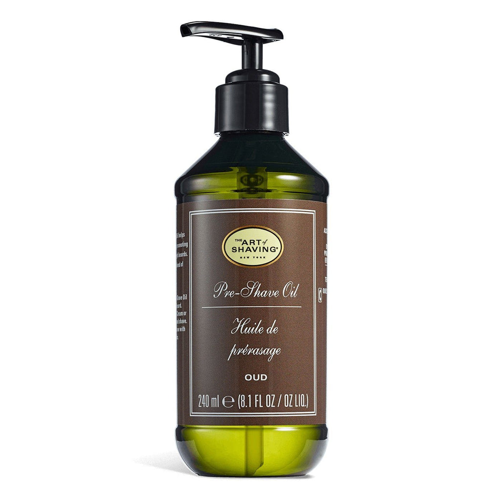 The Art of Shaving Pre-Shave Oil Pre Shave The Art of Shaving Oud Suede 8.1 fl oz (240 ml)
