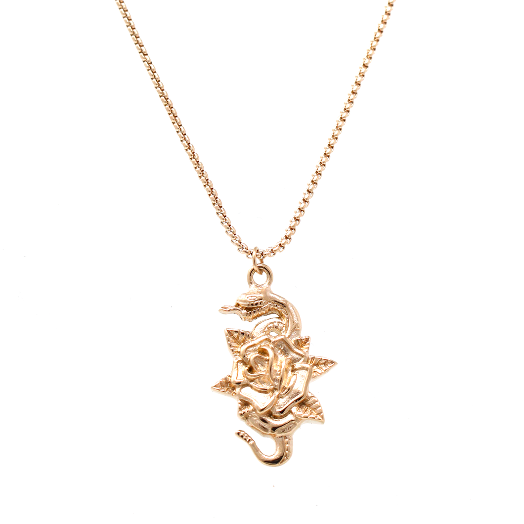 Threat Necklace - Rose Gold