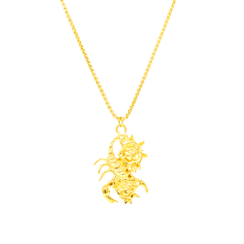 Scorpion Necklace - Gold