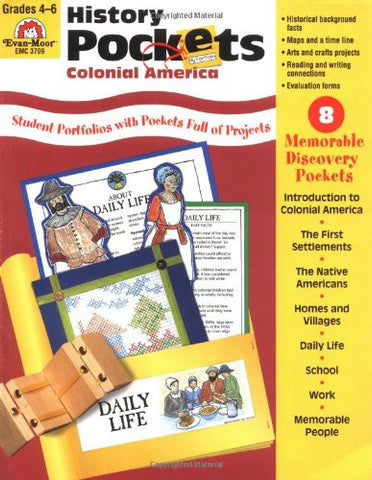 History Pockets: Colonial America