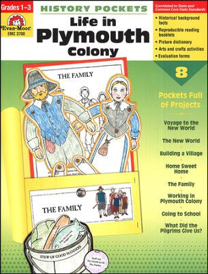 History Pockets: Life in Plymouth Colony