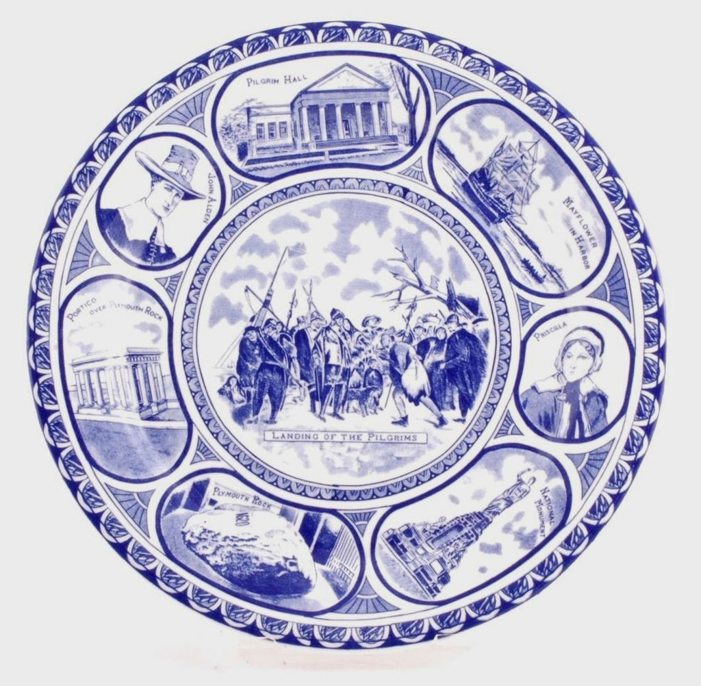 Landing of the Pilgrims Plate