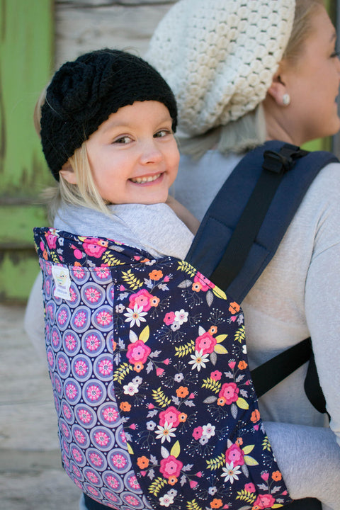 Posy Pinwheel Duo- Toddler Soft Structured Child Carrier