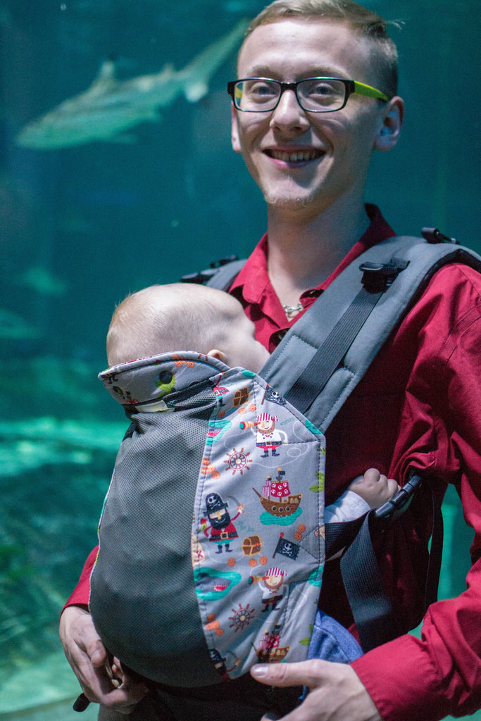Walk the Plank w/ Koolnit Mesh- Standard Soft Structured Baby Carrier
