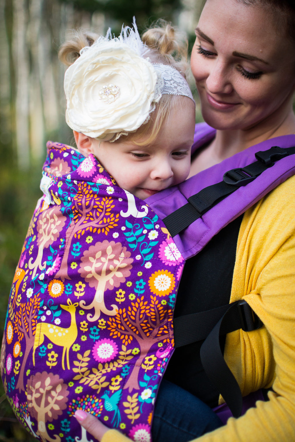 Fantasy Forest- Toddler Soft Structured Child Carrier