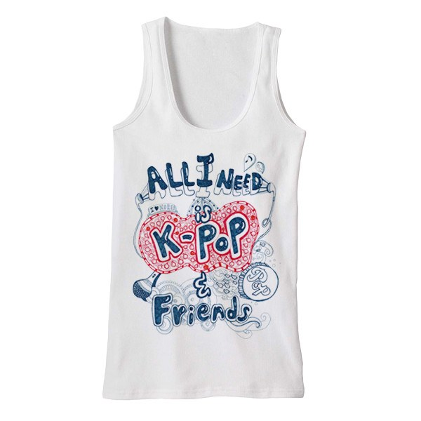 K-Pop & Friends Tank