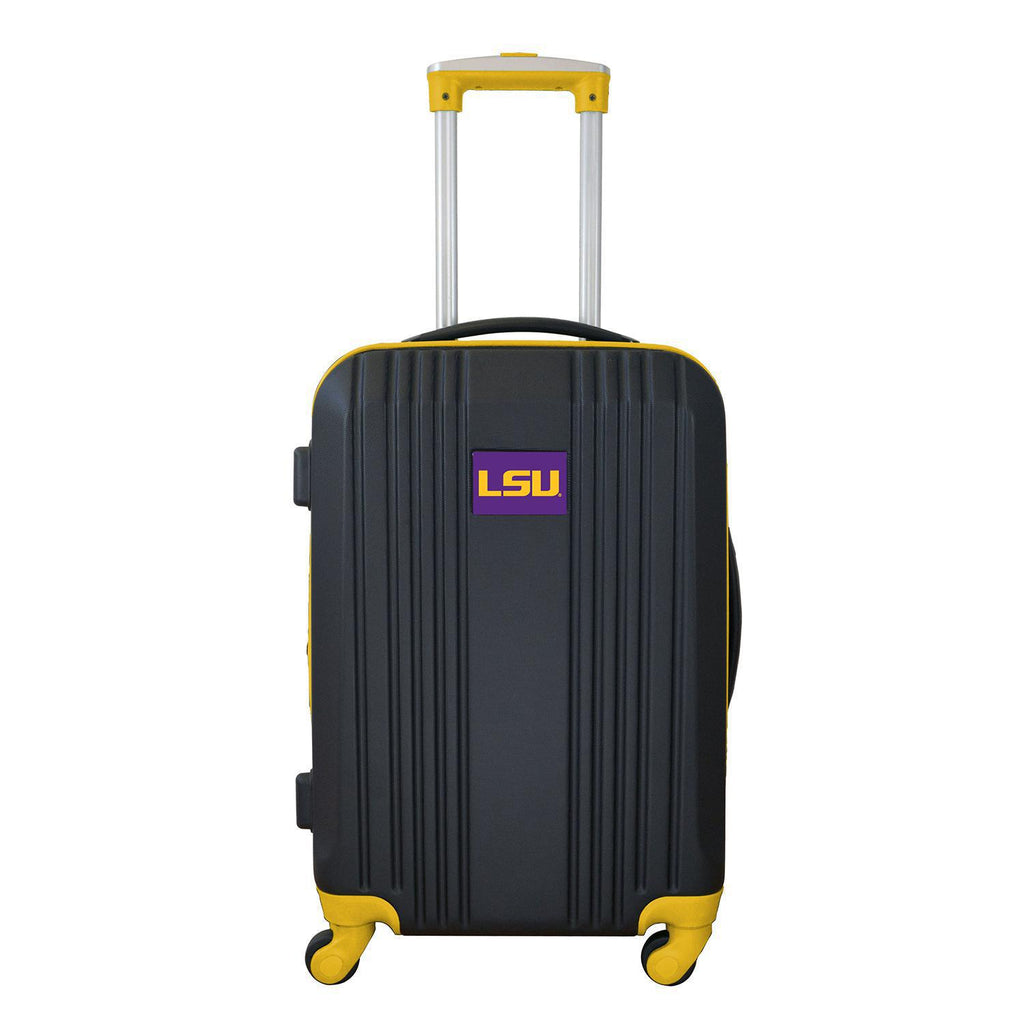 Louisiana Tigers Luggage Carry-on 21in Hardcase two-tone Spinner 100% ABS-YELLOW