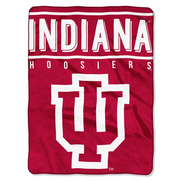 Indiana Hoosiers NCAA Basic 60 x 80 Raschel Throw