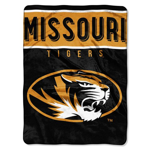 Missouri Tigers NCAA Basic 60 x 80 Raschel Throw