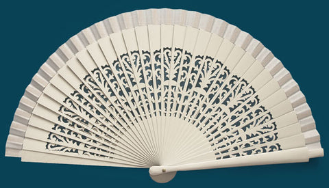 Bridal Hand Fan CC9073W