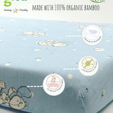 Load image into Gallery viewer, Grow Bamboo Muslin Fit Sheet - โกรวผ้าปูมัสลินใยไผ่