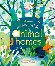 Load image into Gallery viewer, Usborne หนังสือPeep inside animal homes