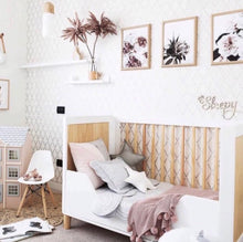 Load image into Gallery viewer, Bambigarden selection Taylor Cot/Bed-White เตียงไม้รุ่น Taylor สีขาว/ไม้