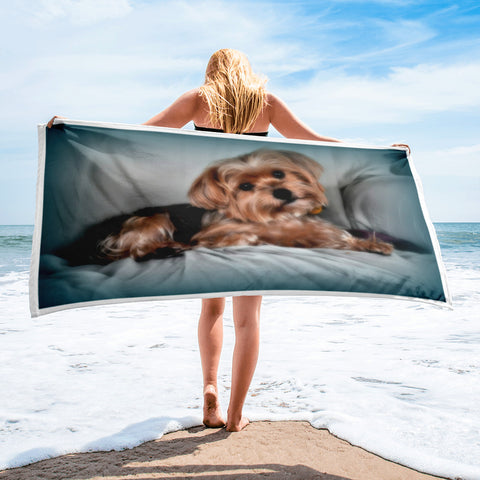 FTLA Apparel ~ For The Love of Animals Apparel:  Towel - Custom Pet Towel