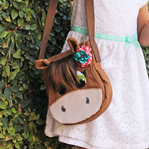 Horse Purse and Satchel Bag