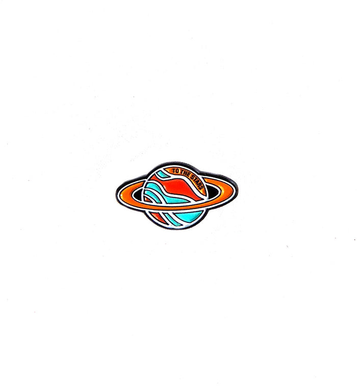 Cosmic Planet Lapel Pin