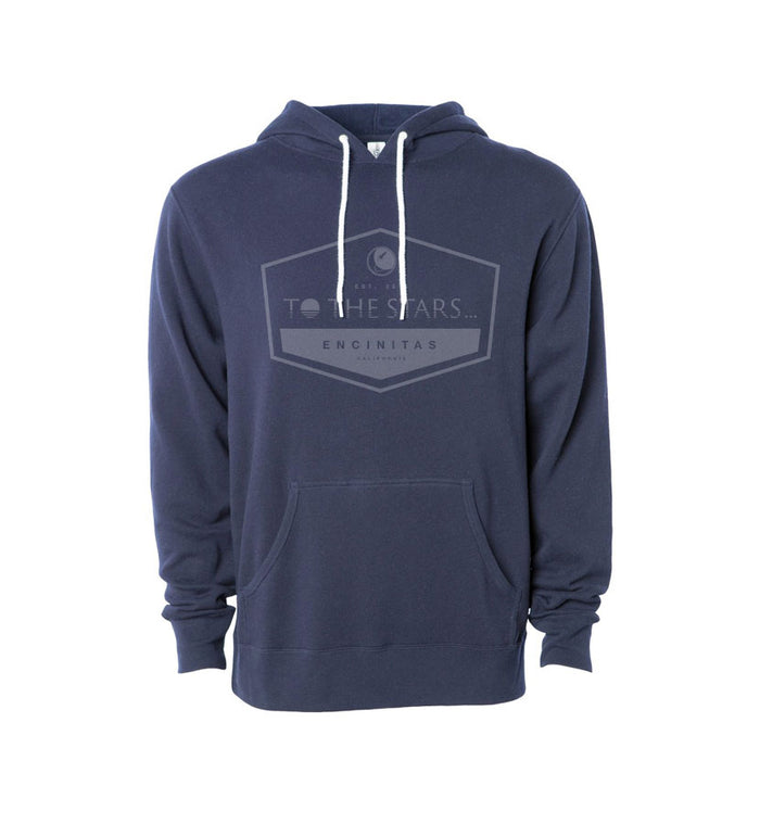 Established Unisex Pullover Hoodie Navy/Blue