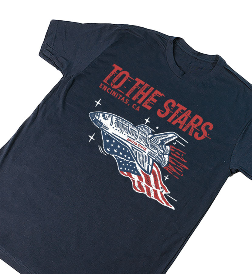 Patriotic Expedition T-Shirt Midnight Navy