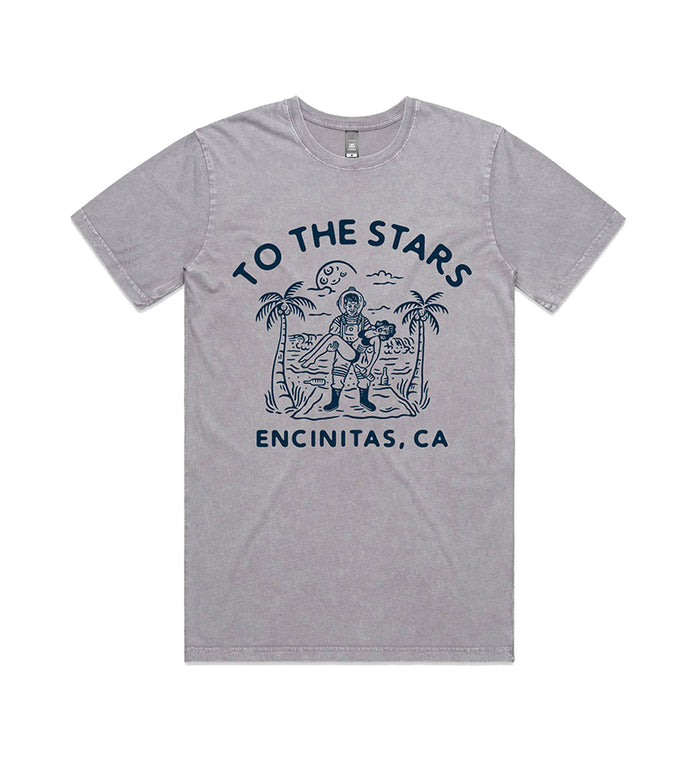 To The Stars... Wrecked T-Shirt Ash Stone - To The Stars...