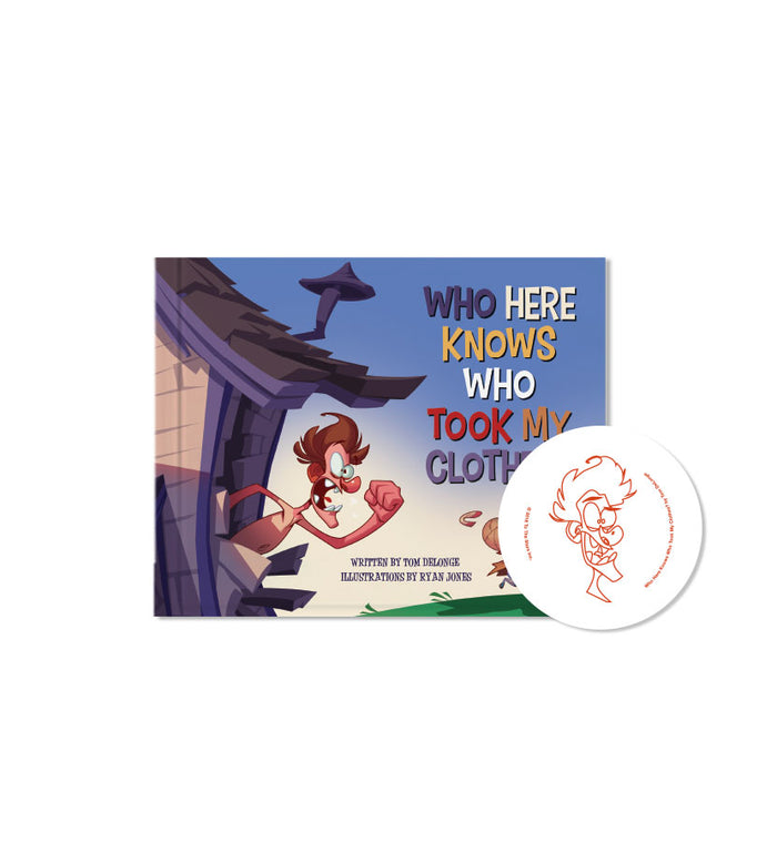 Who Took My Clothes? First Edition Hardcover + Flexi Vinyl