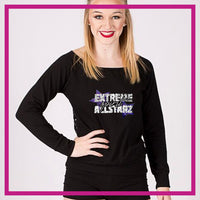 LONGSLEEVELACEFRONT-extreme-spirit-allstarz-GlitterStarz-Custom-bling-logo-Rhinestone-Apparel-For-Cheer-and-dance