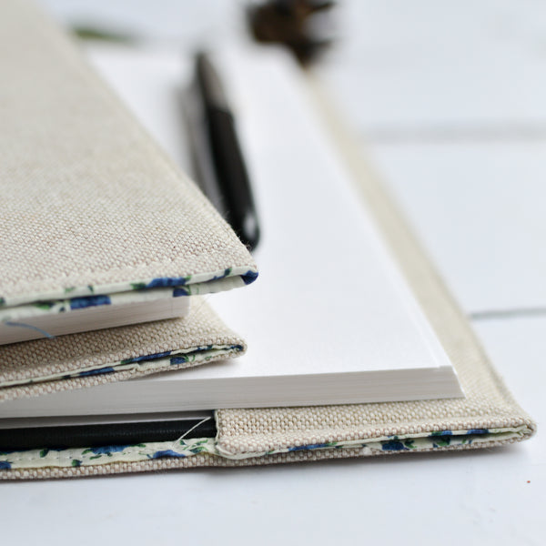Plans And Great Ideas Personalised Notebook - Handmade Poshyarns