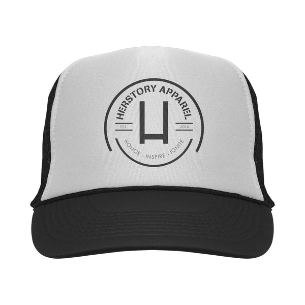 LOGO Trucker Hat (Black)