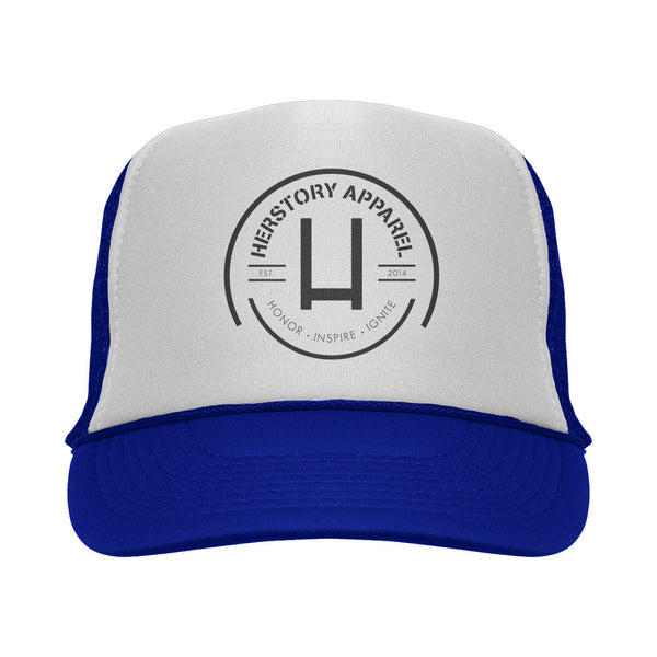LOGO Trucker Hat (Blue)