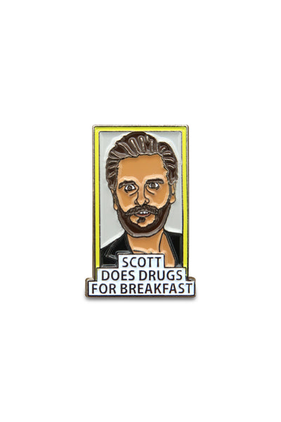 Scott Does Drugs  Pin