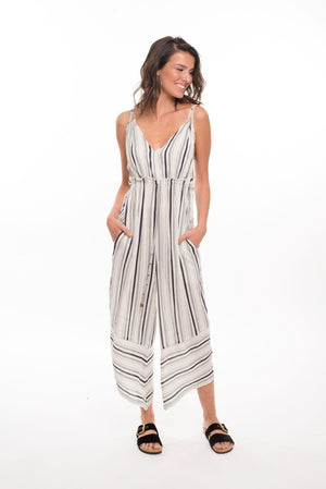 821FN- Faustine Wide Legged Jumpsuit