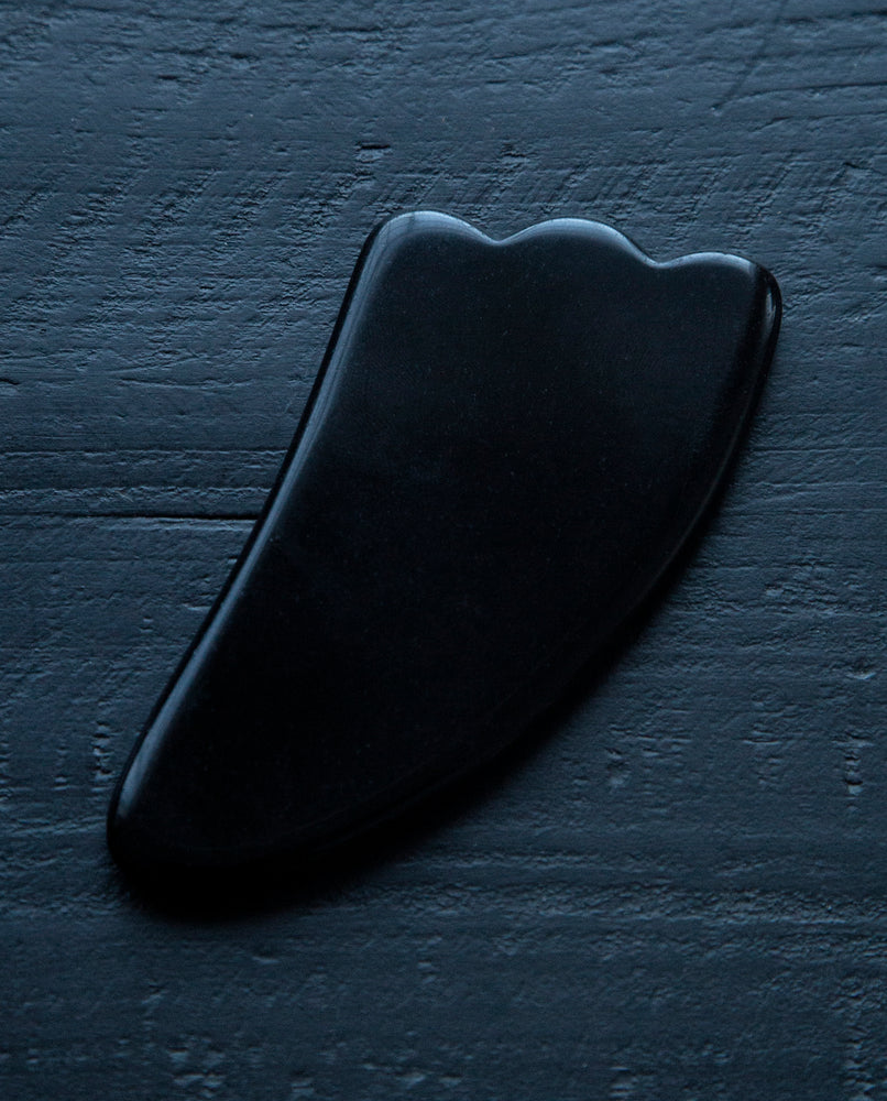 Black Obsidian Facial Massage Tool