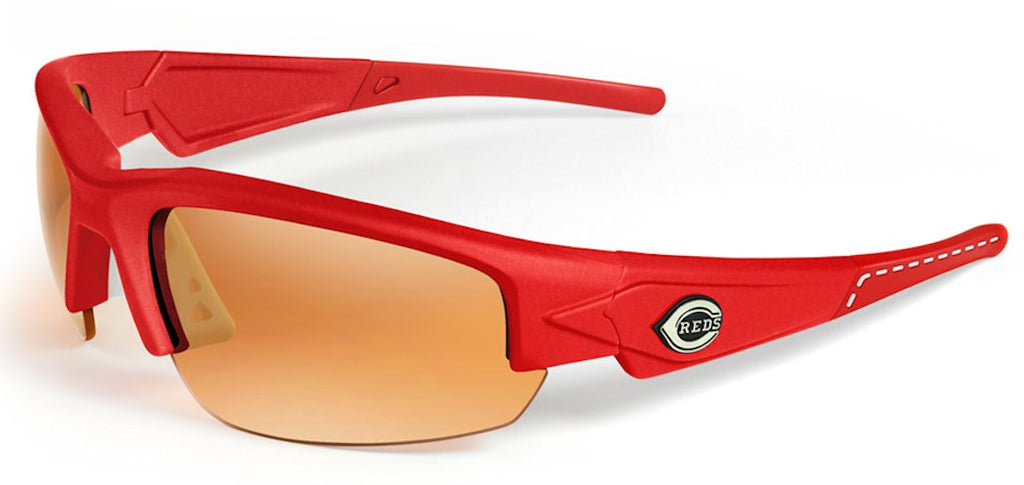 Cincinnati Reds Sunglasses - Dynasty 2.0 Red with Red Tips
