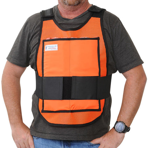Classic Cool Vest – Safety Orange with Protect Pack