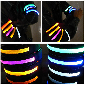 Pair of LED Safety Workout Armband