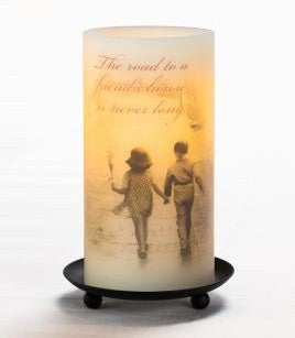 Friendship Sentiment Candle