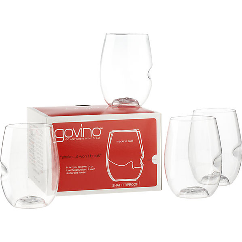 """Go Anywhere"" Wine Glass By Govino"
