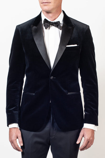 Aston Black Velvet Dinner Jacket
