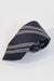 Navy with Grey Stripe Necktie
