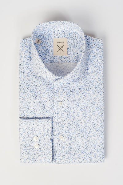 Espirit Light Blue Floral Shirt