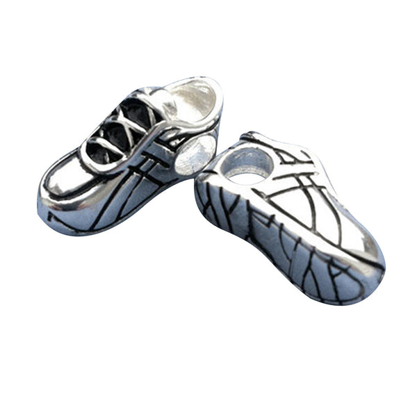 Running Shoe Large Hole Bead